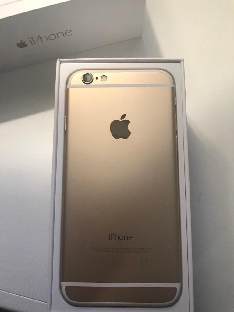 iPhone 6 64gb in Gold £200