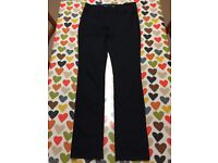 Ladies Next Slim Black Jeans 10R