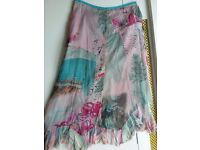 James Lakeland silk skirt - hardly worn