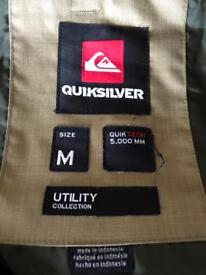Males QUIKSILVER 5k snowboarding trousers size M