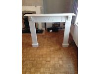 Wooden Fireplace Surround (Hand Carved)