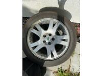Range Rover/ Land Rover alloys /tyres