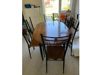 Family Dinning Table , 6 chairs