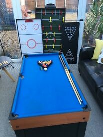 10 in 1 sports and leisure table