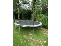 FREE 10ft Trampoline requires netting. broken down ready to take away BR5 1GY