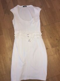White Jane Norman dress