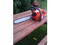 "Husqvarna 137 15"" chainsaw"