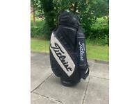 Titleist Leather Golf Tour Bag
