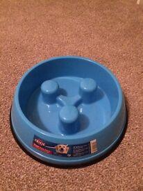 slow feed dog bowl brand new