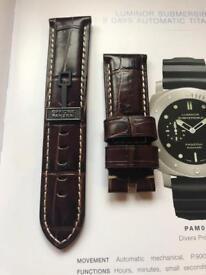 Officine Panerai straps various sizes and colours
