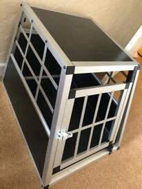 Dog cage for vehicle