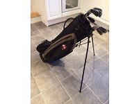 Men's Masters Golf Irons and Hippo Golf Bag