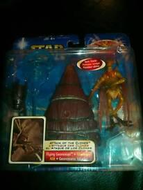 "Star wars "" Flying Genosian "" Collector's Item. £15.00."