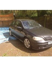 """BREAKING 2001 ASTRA SRI 2.2 PETROL 2 DOOR COUPE 5 SPEED MANUAL IN BLACK """" PARTS GOING SUPER CHEAP """""""