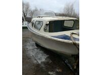 20 Ft Seamaster boat project including trailer