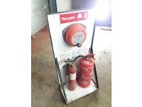 Fire Point - Extinguisher Holder Station - Fire Alarm Bell
