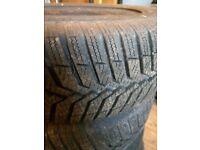 4 x winter tyres 165 / 65 R 13 Snowtrac 3