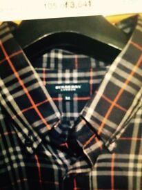 Burberry of London men's half sleeve shirt £20