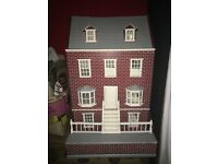 Victoria style dolls house