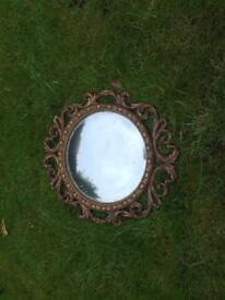 Circular convex mirror