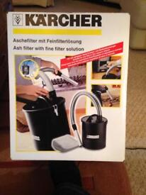 Karcher Ash Filter Suitable For Any Wet Or Dry Vacuum Cleaner
