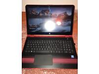 HP PAVILION X360 pentium, red 2in1 touchscreen LAPTOP
