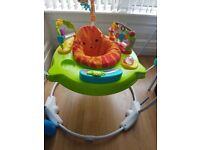 REDUCED!!! Fisher Price Jumperoo Roaring Rainforest