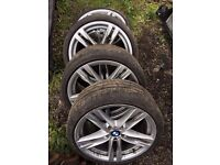 "BMW 6 GRAN COUPE MSPORT 20"" ALLOY/TIRES"