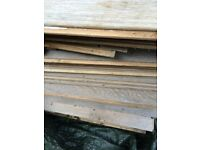 Laminated flooring grey coulour all new about 40 boards 25 pound