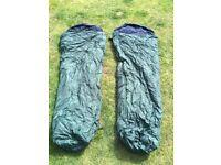 2 x Kozi-Tec 350 Sleeping Bags by High Gear