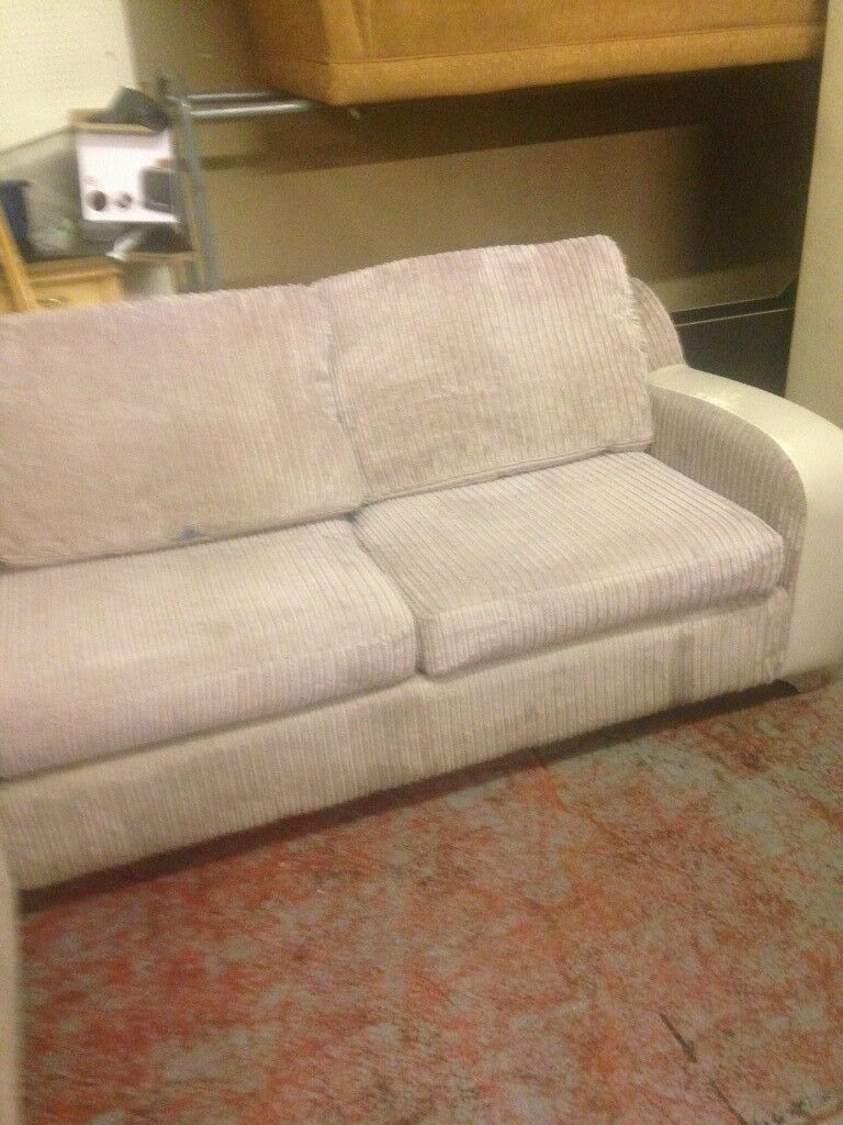 corner sofa with storage and double bed built in