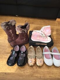 Girls Clothes shoes bundle size 7