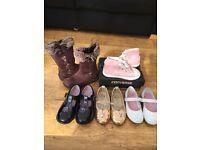 Girls Clothes shoes bundle size 7