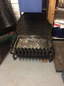 Fireplace tray