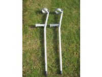 Pair of Lightweight Crutches - £10.00