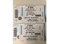 2 Ed Sheeran Tickets Dublin May 18