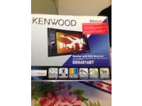 KENWOOD IN CAR MONITOR DDX4016BT