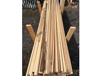 Wooden dowel moulding bundle