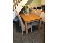 Family Dinning Table 6 Seater