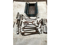 toolbox full of spanners