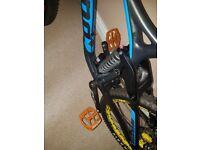 Unused orange hope pedals