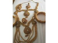 Sell this Somali wedding dress and jewellery