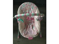Bright starts baby bouncer vibrating chair