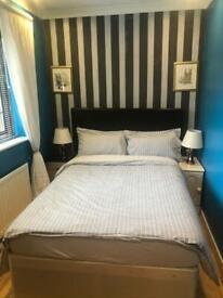 One medium size double bedroom