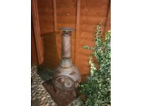 Cast Iron Large Chimenea
