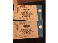 2 lovebox tickets