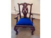 Miniature Carver Chair - Ideal for that Favorite Teddy Bear