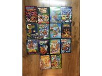 Huge collection kids DVD movies + DVD player