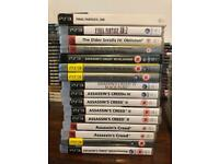 PS3 games and console