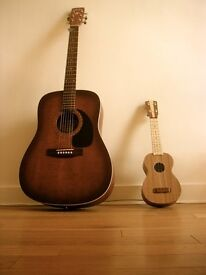 Guitar and ukulele lessons for all ages and levels | Manchester City Centre